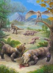 Mamifere care mancau dinozauri