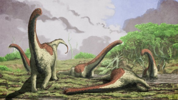 O nouă specie de dinozaur uriaş, descoperită în Africa