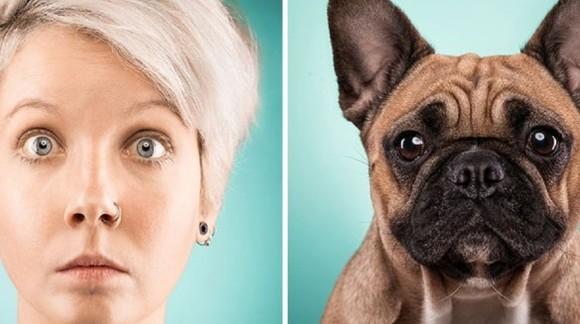 15 persoane care arată exact ca animăluțele lor de companie - Galerie Foto