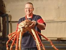Cel mai mare crab din lume