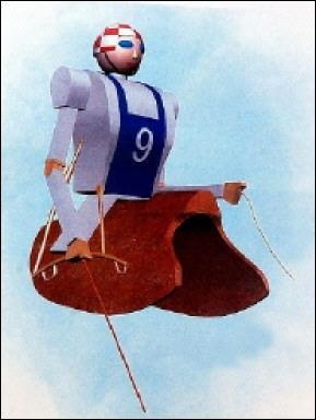Jockey-robot pentru cursele de dromaderi