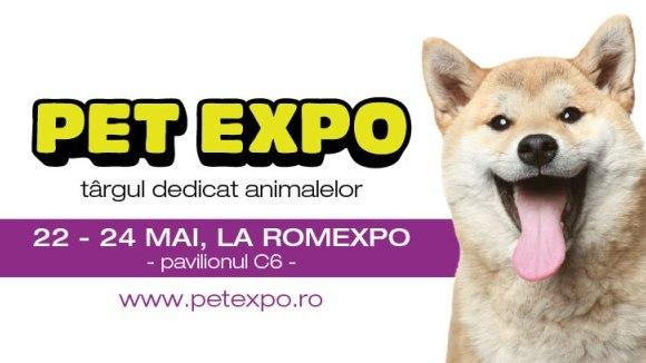 Pet Expo, târgul dedicat animalelor de companie, își deschide porțile pe 22 mai
