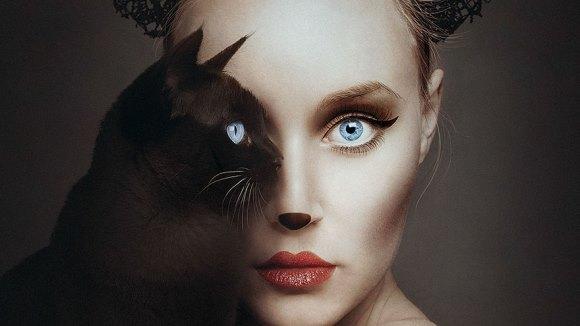 O artistă devine una cu animalele, înlocuindu-şi un ochi cu al lor - Galerie Foto