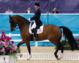 Calul - singurul animal de la Olimpiada