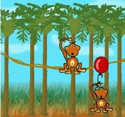 Sirul de maimute infometate