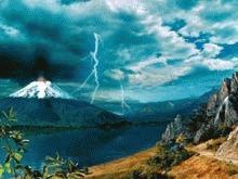 Viata marina distrusa de eruptia unui vulcan