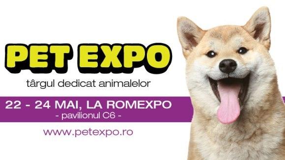 Pet Expo, târgul dedicat animalelor de companie, se deschide pe 22 mai