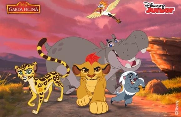 Garda Felină apără Regatul Luminii! Din 18 aprilie, la Disney Junior! (P)