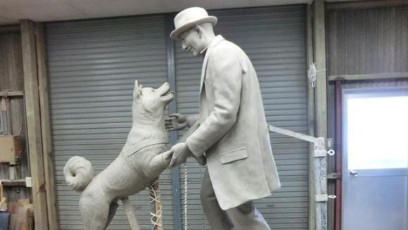Hachiko, cel mai loial câine din cinematografie, s-a reunit pentru totdeauna cu stăpânul lui, după aproape un secol (Galerie Foto)