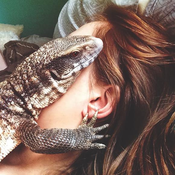 Șopârla Manuel – dovada vie că și reptilele pot fi animale de companie foarte drăgălașe (Galerie Foto)